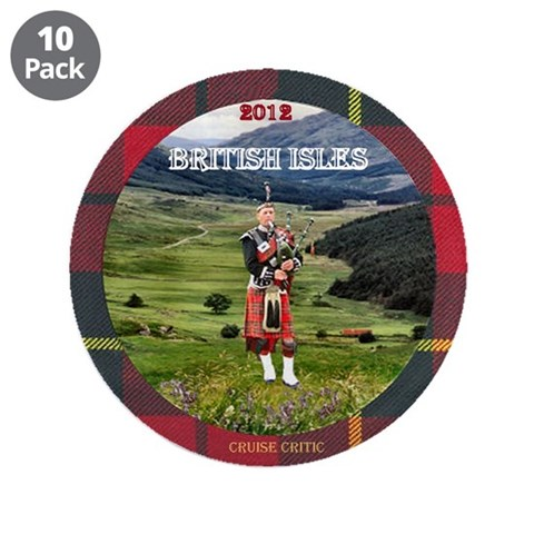 British Isles -  London 3.5 Button 10 pack by CafePress