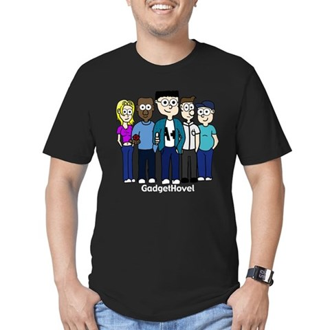 : GH Cast Everybody Men's Fitted T-Shirt dark by CafePress
