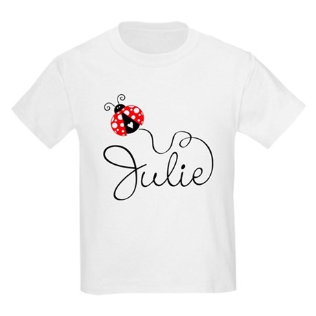 Ladybug Julie Kids Light T-Shirt