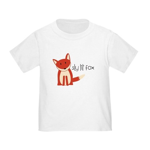 Product Image of Sly Lil' Fox Toddler T-Shirt