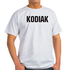 Kodiak, Alaska Ash Grey T-Shirt