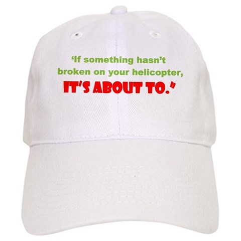 ... it's about to  Military Cap by CafePress