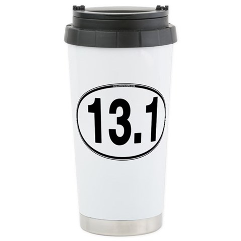 13.1 Euro Oval  Sports Ceramic Travel Mug by CafePress