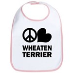 Wheaten Terrier Bib