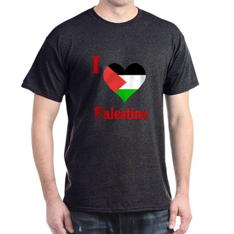 Product Image of I Love Palestine #5 Dark T-Shirt