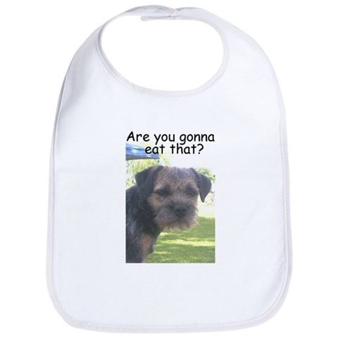 : Are you gonna eat that? Pets Bib by CafePress
