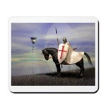 Knight Templar Mousepad