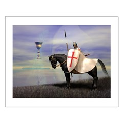 Knight Templar Small Poster; Click for info on this Knight Templar Small Poster