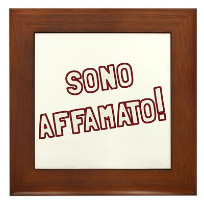 Sono Affamato Kitchen Sign