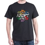 Paws-Adopt-2009 Dark T-Shirt