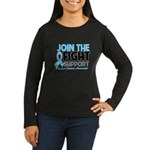 JoinTheFight-Cancer Women's Long Sleeve Dark T-Shi