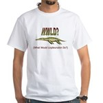 What Would Liopleurodon Do White T-Shirt