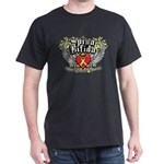 Spina Bifida Wings Dark T-Shirt