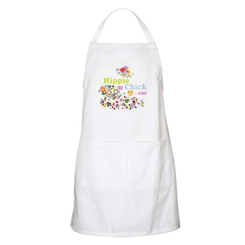 - Hippie Chick ... at heart  Vintage Apron by CafePress