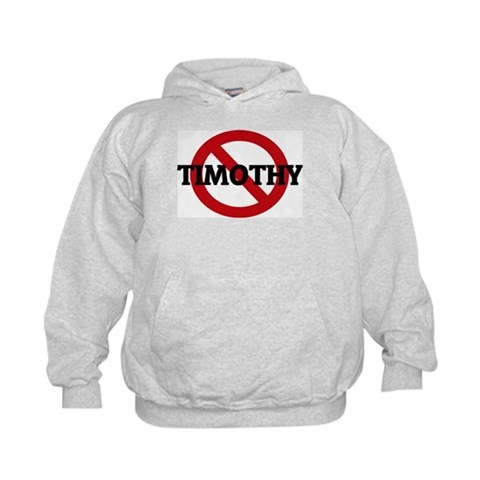 Anti-Timothy  Attitude Kids Hoodie by CafePress