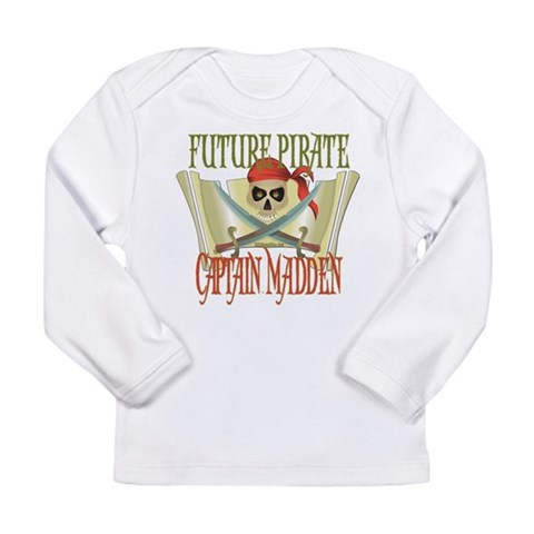 Captain Madden  Cute Long Sleeve Infant T-Shirt by CafePress