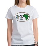 Africa Can't Wait Baby Green Women's T-Shirt