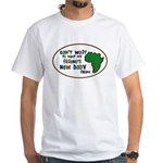 Africa Can't Wait Friends bab White T-Shirt