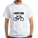 I Vote For Bicycle T-Shirt