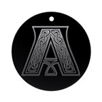Celtic letter A monogram