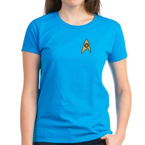 Product Image of Star Trek Science Women's Dark T-Shirt
