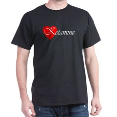 KETAMINE Black T-Shirt