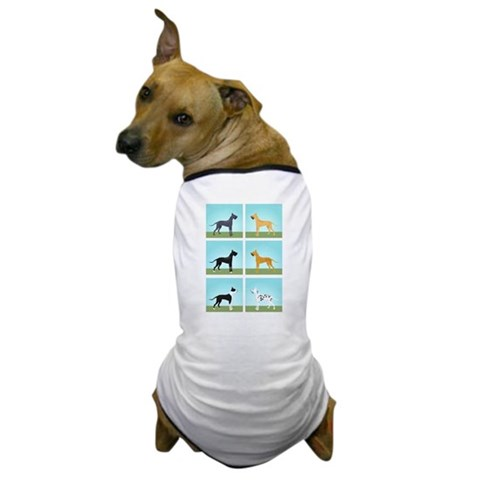 6 Colours  Pets Dog T-Shirt by CafePress