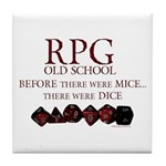 Before there were mice... there were dice. RPG's didn't start with computers, they came before! - OffLineTshirts.com