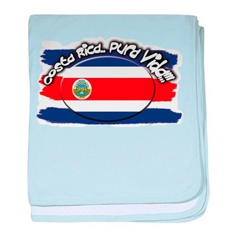 COSTA RICA Infant Blanket Che guevara baby blanket by CafePress