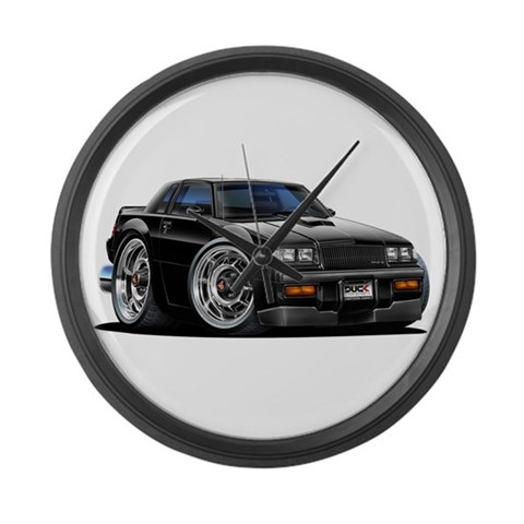 Buick Grand National  Hobbies Large Wall Clock by CafePress