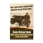 All men needed on the battlefield! No problem you'll just hitch a ride. Requesting a pick up! You see a jeep except... Bob's driving it and he flies solo.