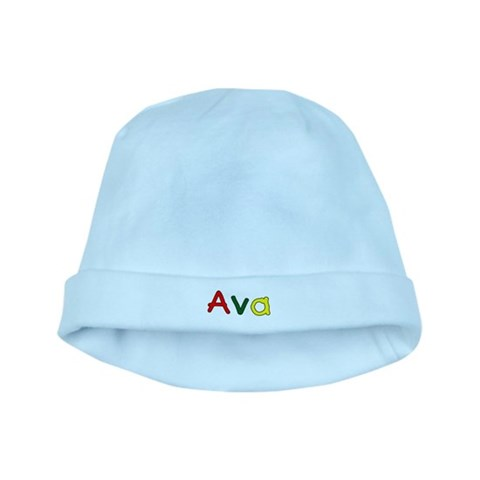 Ava  Names baby hat by CafePress