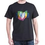 Ohio Heart Rainbow T-Shirt