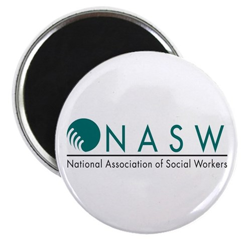 2.25quot; Magnet 100 pack Social worker 2.25 Magnet 100 pack by CafePress