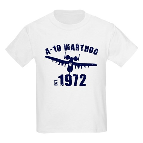 Product Image of Varsity A-10 1972 Kids Light T-Shirt