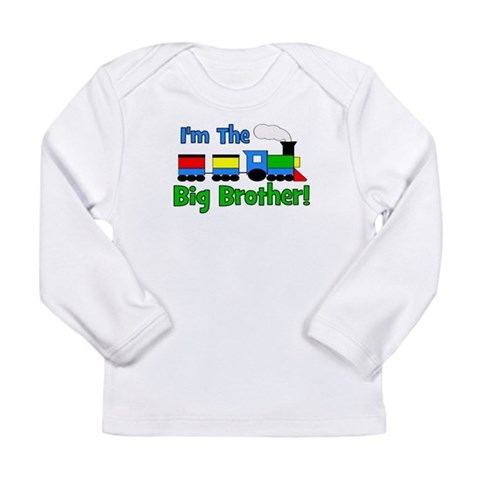 Big Brother TRAIN  Baby Long Sleeve Infant T-Shirt by CafePress