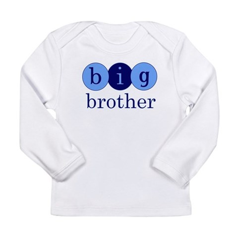 Big Brother Circles  Baby Long Sleeve Infant T-Shirt by CafePress