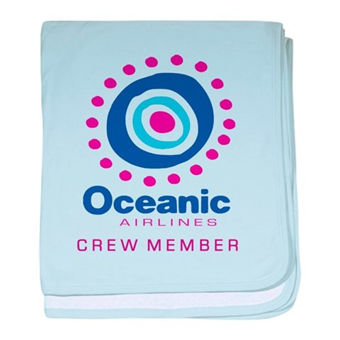 'Oceanic Airlines Crew'  Losttv baby blanket by CafePress