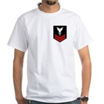 Hospital Corpsman Second Class White T-Shirt