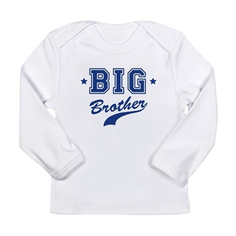 Big Brother - Team  Baby Long Sleeve Infant T-Shirt by CafePress