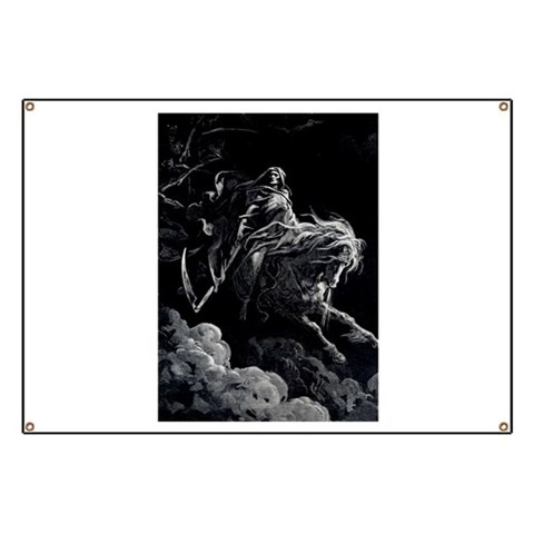 Death Angel  Motorcycle Banner by CafePress