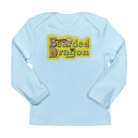 Bearded Dragon  Nature Long Sleeve Infant T-Shirt by CafePress
