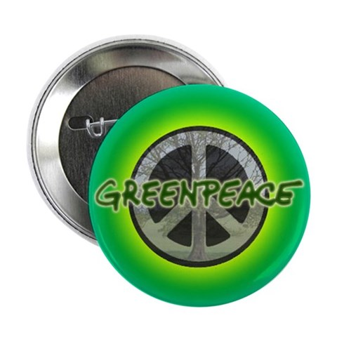 10 pack of our Tree Peace Button Animals 2.25 Button 10 pack by CafePress