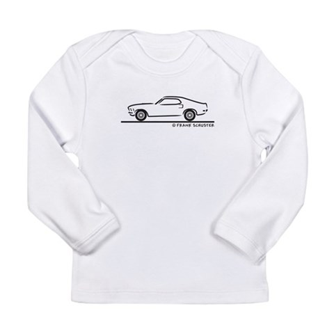 1970 Mustang Fastback  Hobbies Long Sleeve Infant T-Shirt by CafePress
