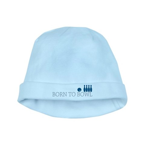Born to BOWL  Sports baby hat by CafePress
