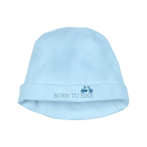 Born to Bike  Sports baby hat by CafePress