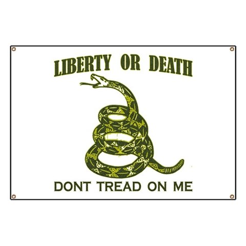 Conservative Banner by CafePress