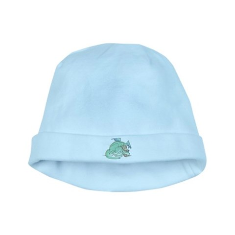 Baby Dragon  Art baby hat by CafePress