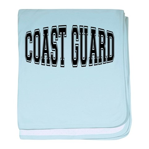 Coast Guard  Military baby blanket by CafePress
