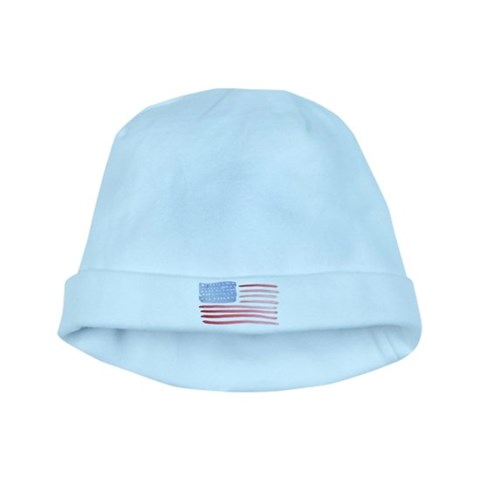 American Flag  Military baby hat by CafePress